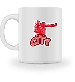 Dabbing Kansas City Football - Mug