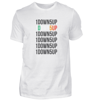 Motorcycle Motocross 1DOWN5UP Gift