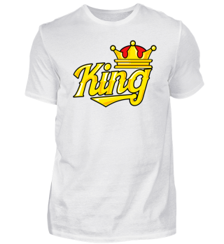 King (DAD) - Funny Family Matching Gift