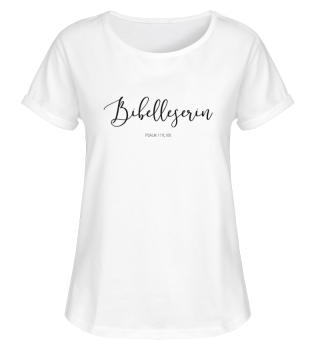 Shirt Bibelleserin WHITE
