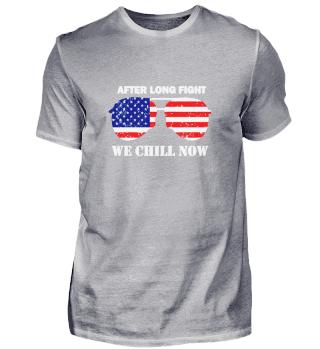 Amerikanische Flagge Sonnenbrille Pilot
