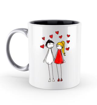 Pärchen Valentinstag Geschenk idee