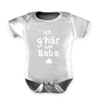 Ich g'här am Baba | Strampler