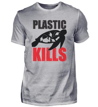 El plástico mata a las tortugas marinas
