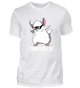 Dabbing Chinchillin Chinchilla Cute Pet