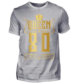 80. Geburtstag 80 Jahre Queen Königin