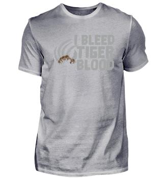 Cool I Bleed Tiger Blood Wrestling gift