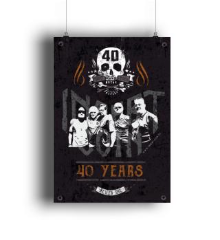Insert Coin Plakat A2 | 40 YEARS