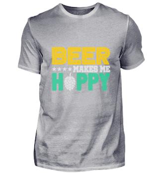 Bier macht mich glücklich