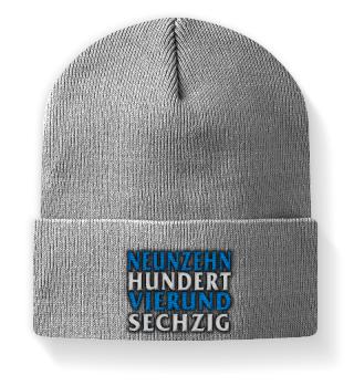 Neunzehnhundertvierundsechzig Mütze