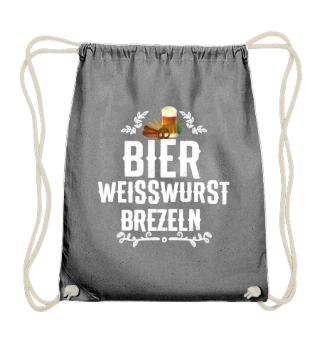 Oktoberfest beer white sausage pretzels