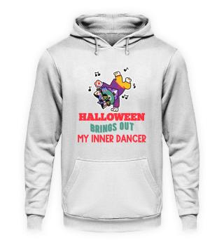 Halloween hip hop breakdance dancing cat