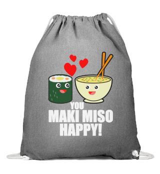 Yandere Sushi Maki Miso Kawaii