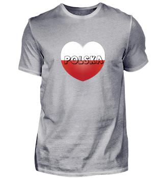 Polska heart, Polen