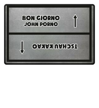 John Porno / Tschau Kakao
