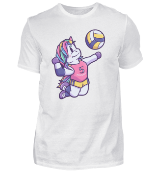 Unicorn horse sports gift volleyball