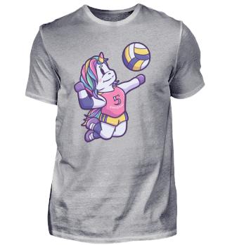 Unicorn horse sports gift volleyball