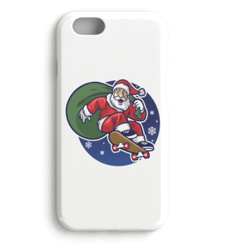 Christmas Santa Claus Skateboard