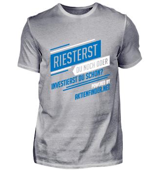 Riesterrente oder Investieren