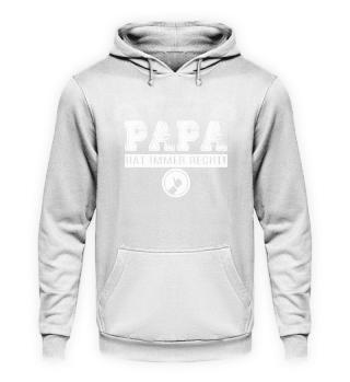 Papa · Papa hat immer Recht