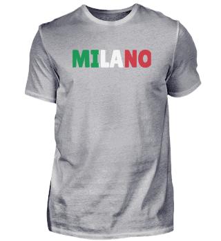 Milano Italy flag holiday gift