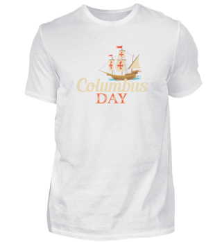 Christopher Columbus Day History voyage native Americans ship