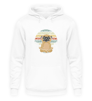 Yoga Paws and Reflect Pug Vintage Gift
