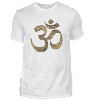 Om symbol of absolute Camouflage Gift