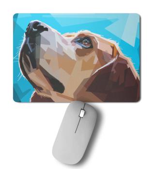 Mousepad mit Hund