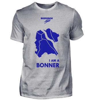 t shirt herren iam a bonner