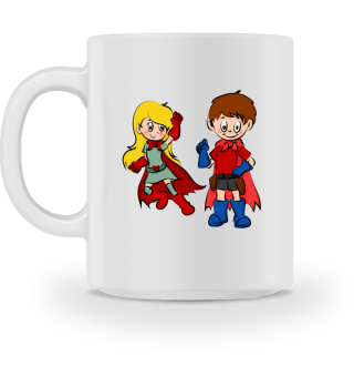 Morgens bin ich immer frisch Tasse
