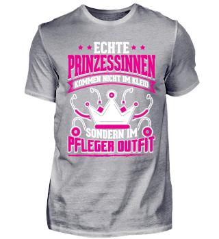 Pfleger Shirt Prinzessinen Outfit
