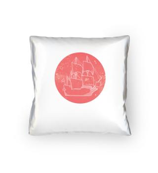 Boat Sailor pillow
