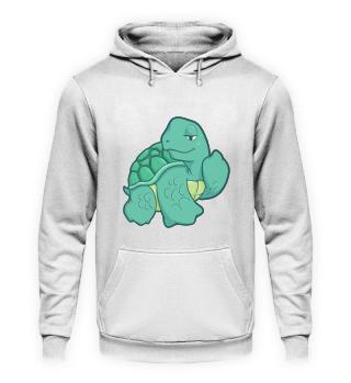Fuck You turtle Chillkröte gift