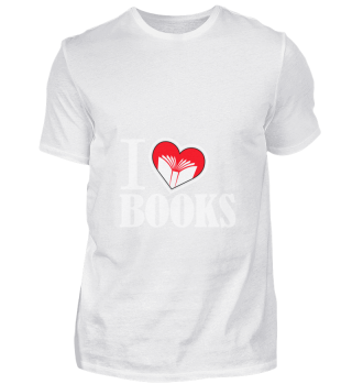 D001-0059A I love Books / Bücher