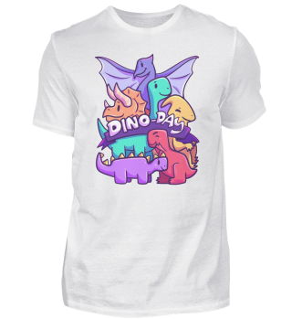 Dinoday Dinosaur Family Animals Children