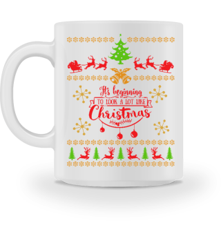 UGLY CHRISTMAS DESIGN - STRICKMUSTER #7.15