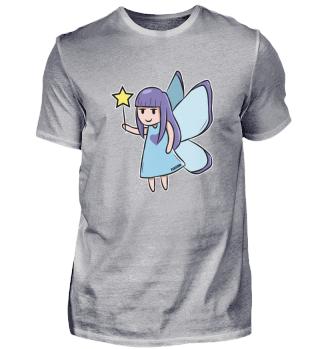 Fee blauer Stern Zauber Märchen Mädchen
