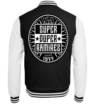 Herren College Jacke Super Duper BW Ramirez