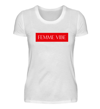 FEMME VIBE WOMANS MARCH GIRLS T-SHIRT