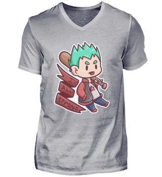 cool strong brave boy Baseball kids gift