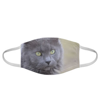 Gesichtsmaske mit Katzenmotiv 20.43