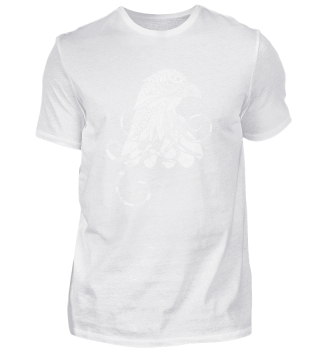 Mandala Eagle Yoga Shirt