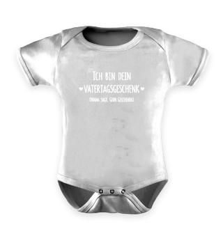 Vatertagsgeschenk Baby Body 1. Vatertag