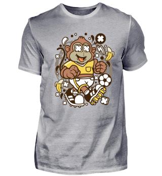 Affe - Fussball - Monkey - lustig