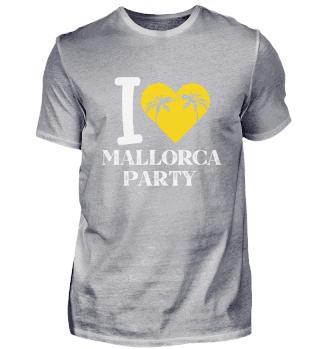 Mallorca Party Malle palm trees beach va
