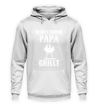 Grillen Schritt Zurück Papa Grillt Grill