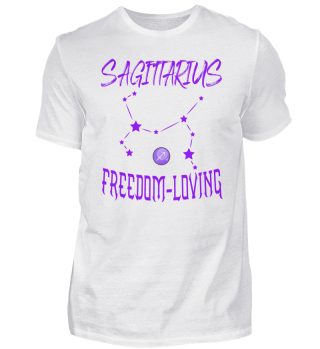 Sagittarius Freedom-loving