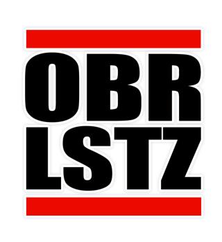 OBRLSTZ - Oberlausitz Aufkleber