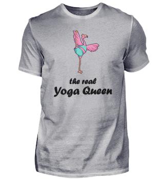 Flamingo Yoga Queen